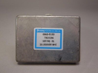 Bliley Electric Co Crystal Oscillator Hp 0960-0153 T91a196 10 Mhz -used