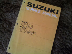 Suzuki T125 Factory Service Manual
