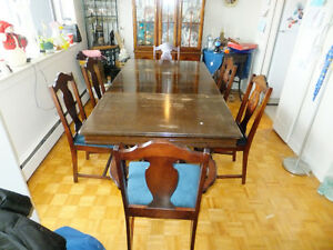 Dining table & chairs for sale - REDUCED!