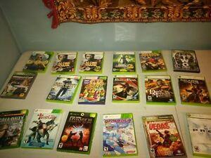 xbox 360 game lot