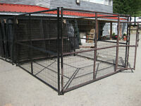 Dog Kennel – 4 Piece 9′ Panel - New