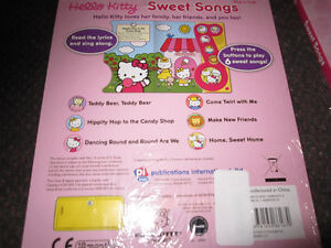 Hello Kitty Sweet Songs Play-a-Sound [Board book] - NEW - $5.00 Kitchener / Waterloo Kitchener Area image 4