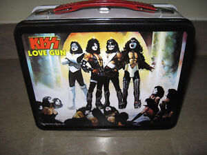 Kiss Love Gun Lunch Box-Excellent condition