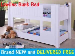 BRAND NEW Low Level Low Line Kids Bunk Bed DELIVERED FREE New Farm Brisbane North East Preview