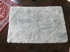Laura Ashley Elvaston 100% wool woven rug RRP £210