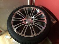 Brand new bmw alloy wheels