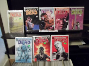 WALKING DEAD AND DEADPOOL COMICS Peterborough Peterborough Area image 2