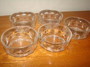 Glass Tumblers  for Juice or Bar + Fruit nappies Kitchener / Waterloo Kitchener Area image 2
