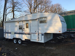 Terry fifth wheel 26' trailer