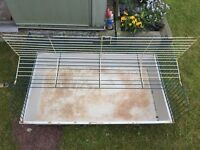 Guinea Pig Indoor Hutch & Accessories incl. food