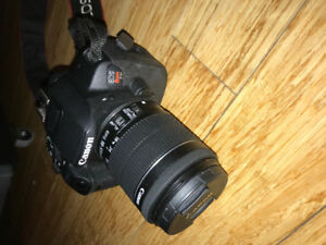 Canon Camera for Sale EOS 700 D Rebel T5i + 55-250 mm Lens
