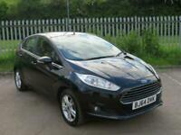 2014 FORD FIESTA 1.25 ZETEC 42,000 MILES ONE OWNER FROM NEW FULL SERVICE HISTORY