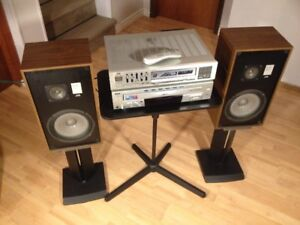 Vintage JVC Receiver and Speaker Home Stereo