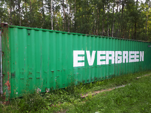Trade- 40 ft Sea Can Container for Utility Trailer