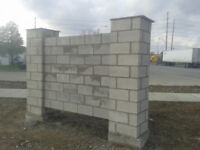 FOR ALL YOUR MASONRY WORK
