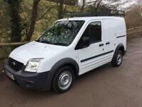 2012 62 FORD TRANSIT CONNECT 1.8TDCi 90PS T200 SWB VAN ONLY 66K FSH WHITE