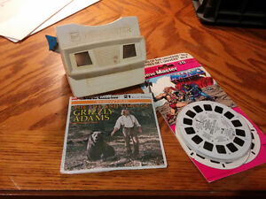 1980s Viewmaster and reels