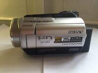 Sony Handycam HD Video Camera 40GB