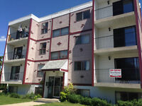 Centrally located 2 bedroom apartment with balcony. Great price!