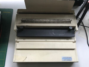 Used Wire Coil Manual Binder - Machine and BNIB coils