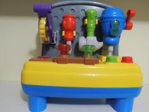 Tool Bench for Toddlers