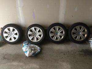 BMW winter tires Serie 323i