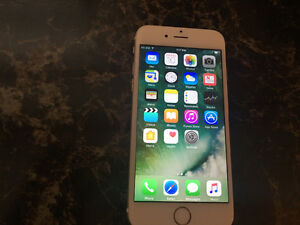 Gold iPhone 6 16gb with Bell/Virgin
