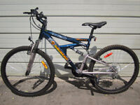 NAKAMURA MONSTER 9.9 DUAL SUSPENSION MOUNTAIN BIKE