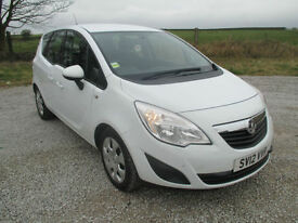 Vauxhall Meriva 1.4i 16v ( 120ps ) Exclusiv