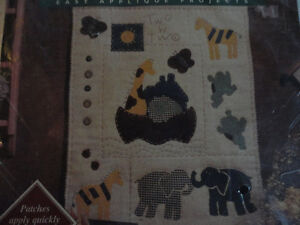 Bucilla PatchWorks Two by Two Kit NEW #41142 Design London Ontario image 3