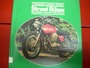motorcycle book on Norton etc.