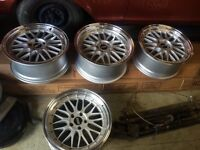 Staggered bbs lm reps