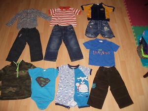 LOT - 11 - items of clothes for baby - BOY ----- size 3