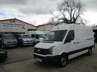 66 reg VW VOLKSWAGEN CRAFTER 2.0 TDI 109PS CR35 MWB HIGH ROOF PANEL VAN