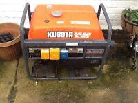 Kubota generator