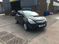 2013 Vauxhall Corsa 1.3 CDTi 16v SE ecoFLEX,ONLY 48000 MILES WARRANTED,