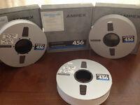 Ampex 456 16 track Grand Master Audio Tape