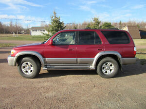2001 Toyota 4Runner Limited SUV, Crossover