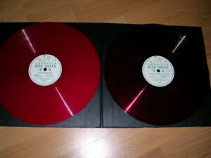 "Records.  ""Bird Songs""  2 x 10 Inch Red Vinyl  1945 (78RPM)"