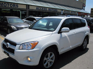 2012 Toyota RAV4 Limited SUV, NAVI, LEATHER, SUNROOF, LIKE NEW