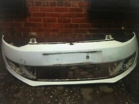Vw polo 2009 2010 2011 2012 genuine front bumper for sale