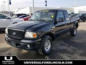 2008 Ford Ranger Sport 4x2 SuperCab w/Air Conditioning, 3.0L V6,