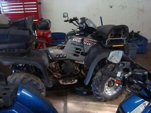 POLARIS SPORTSMAN 700 AND 500 PARTS ALL READY STRIPPED