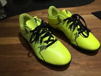 Boys Adidas X15.4 football trainers, nearly new, Size 5