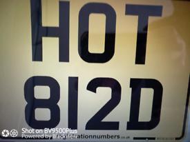 Private Registration Number......HOT 812D......
