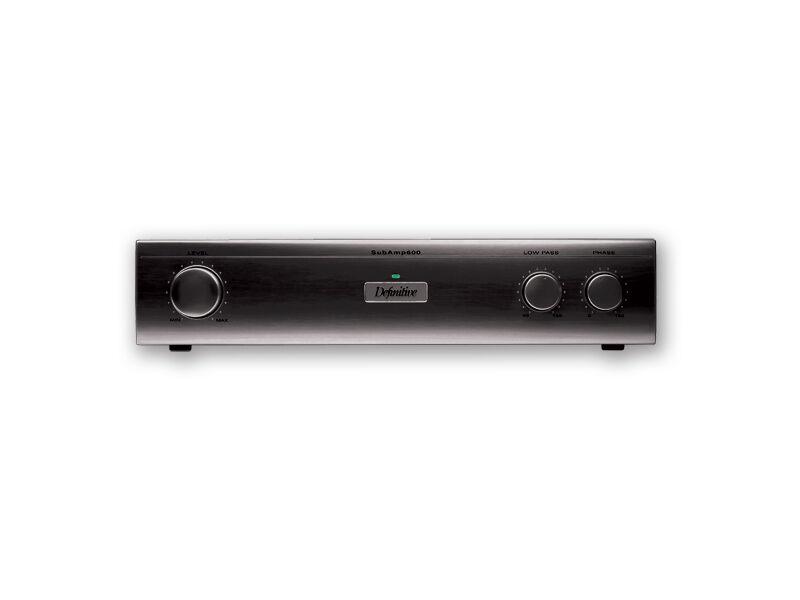 Definitive Technology SubAmp 600 275W 2-Channel Subwoofer Amplifier Black