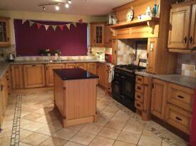 Great oak kitchen for sale