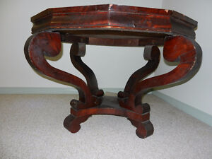 Antique 19th Century Irish 12 Sided Table
