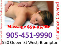 Therapeutic Or Relaxation Massage Direct Bill To Insurance