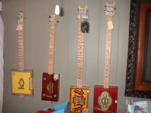 CIGAR BOX GUITARS FOR SALE (4 ONLY)